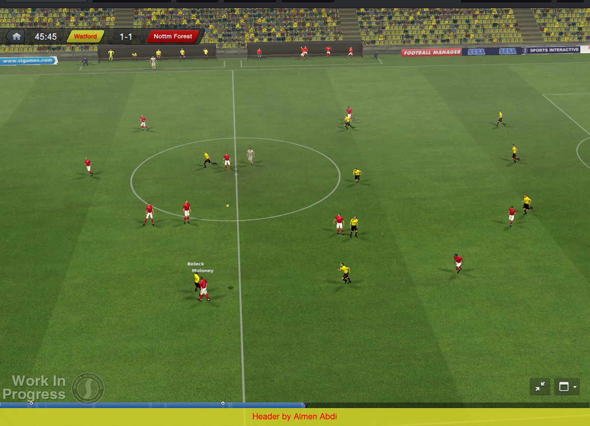 football manager 2014 in game c
