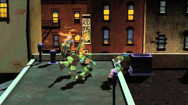 teenege mutant ninja turtles trailer lancio