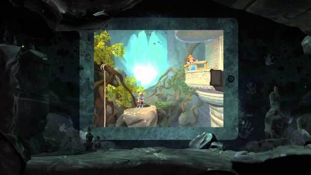 the cave trailer di lancio