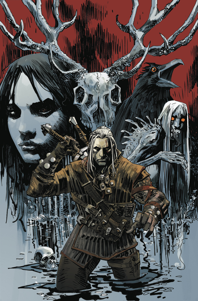 the-witcher-dark-horse-cover