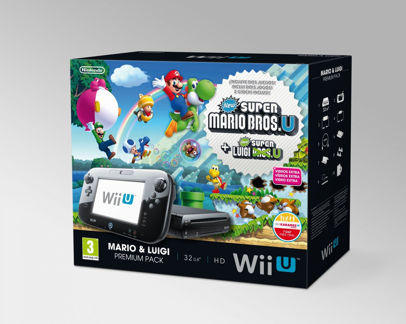 wii u super mario bros u bundle