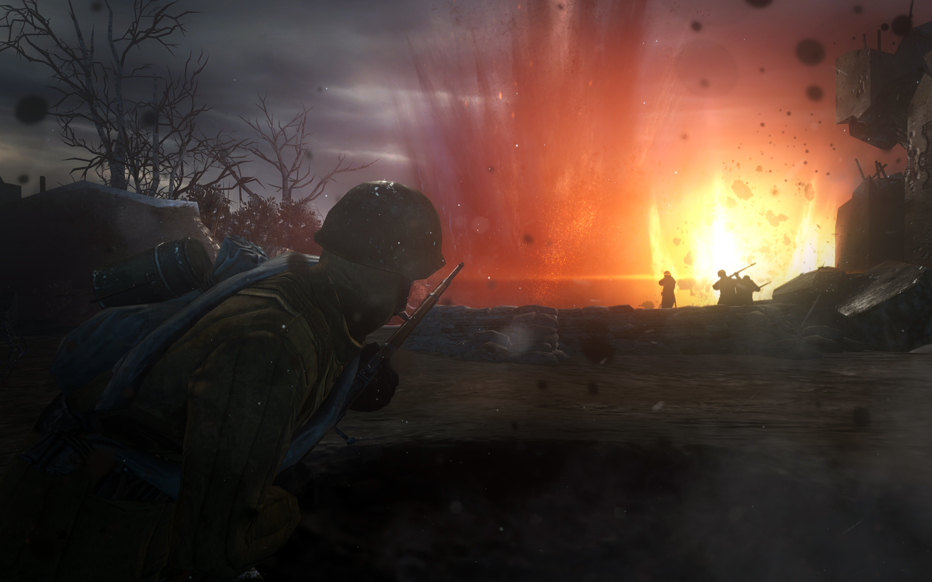 CompanyofHeroes2_VictoryatStalingrad_Explosion