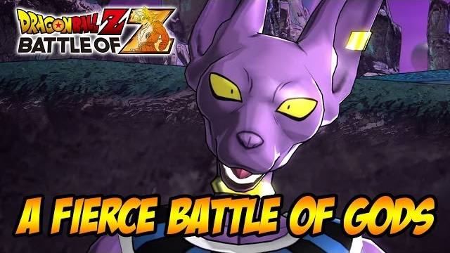 Dragon Ball Z Battle of Z a fierice battle of gods