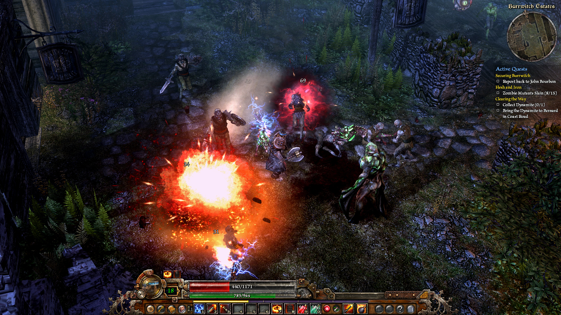 Grim Dawn in game