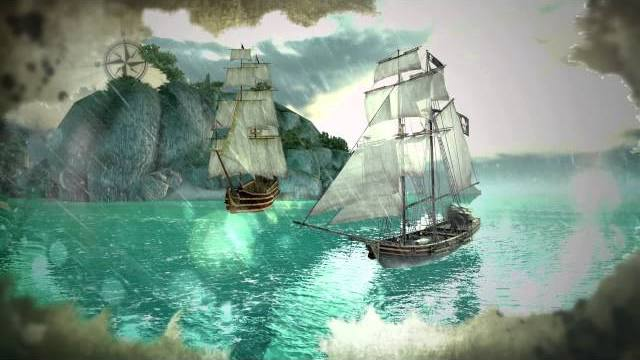 assassins creed pirates naval comba trailer