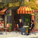 broken Sword the serpents curse-george-nico-cafe-1
