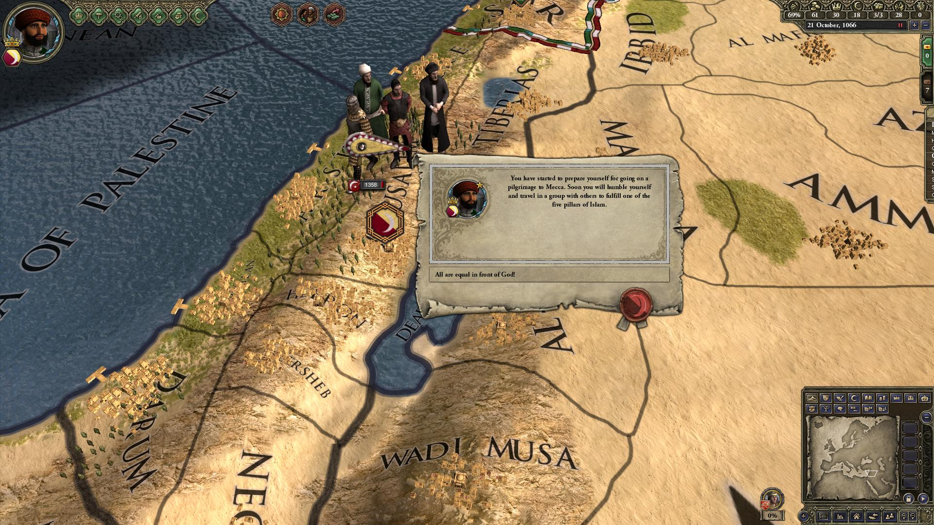 crusader kings II sons of Abraham