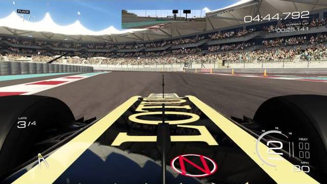 forza motorsport 5 lotus e21 a yas marina