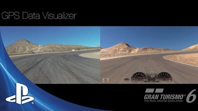 gran turismo 6 gps visualizer