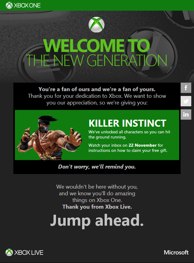 killer-instinct messaggio microsoft