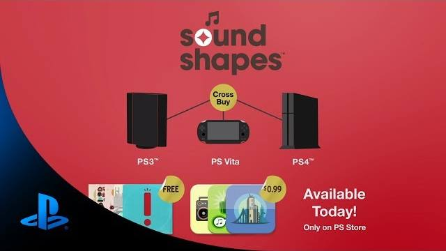 sound shapes ps4 debut trailer