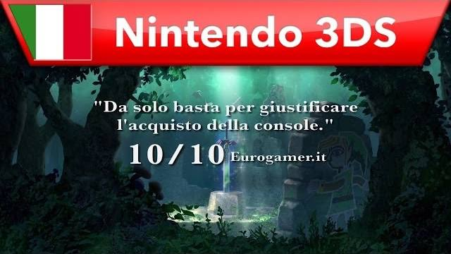 The Legend of Zelda a link Between Worlds trailer di lancio