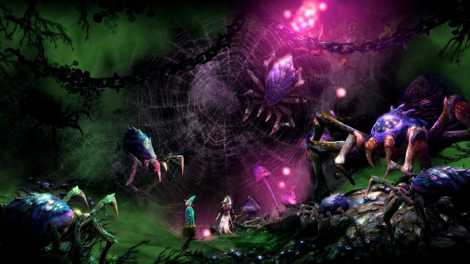 _Trine_2_Complete_Story__spider_trap