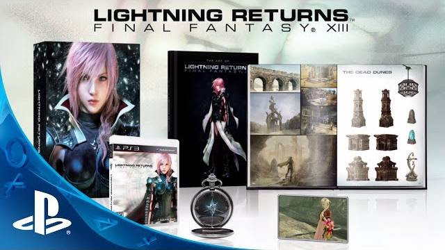 lightning returns final fantasy xiii collector's edition