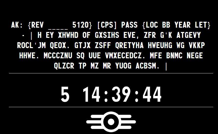 survivor_2299 sarà fallout 4...