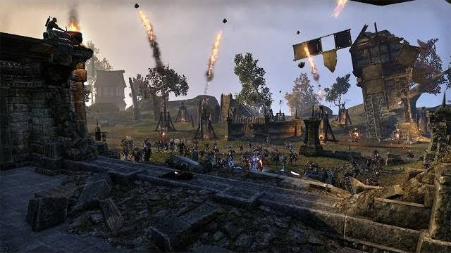 the elder scrolls Online war at cyrodill