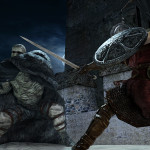 Dark Souls II-battle-under-moon