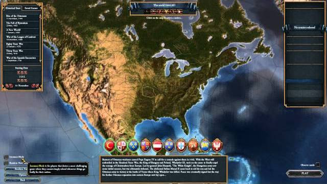Europa Universalis IV Conquest of Paradise video diario