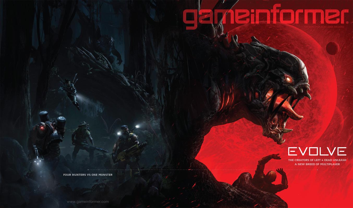 Evolve Game Informer B 07012013