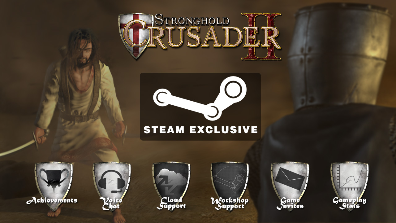 Stronghold crusader II steam-only