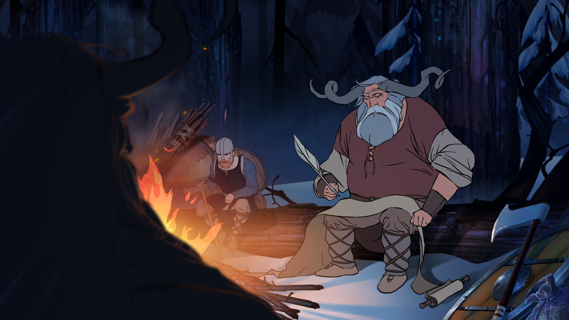 The-Banner-Saga-campfire