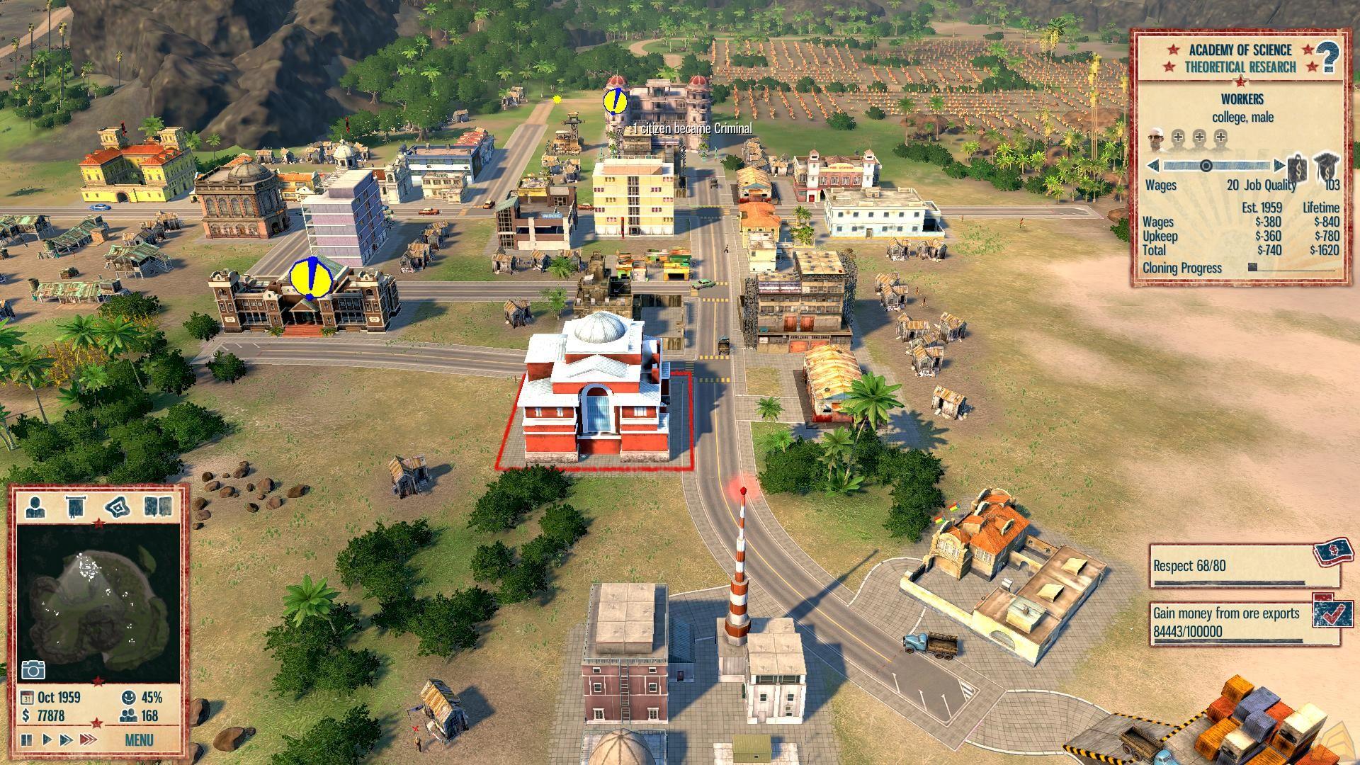 Tropico 4 è uno dei dieci giochi proposti
