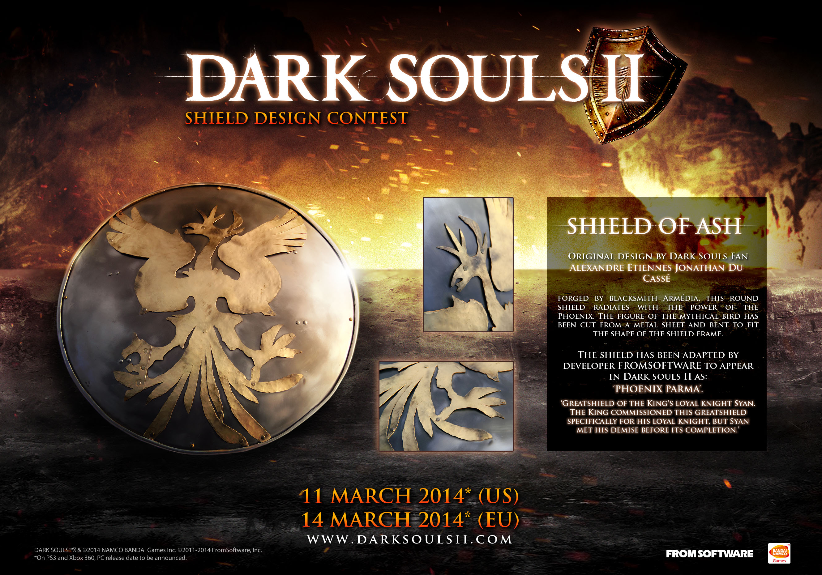 dark souls II shiled of ash