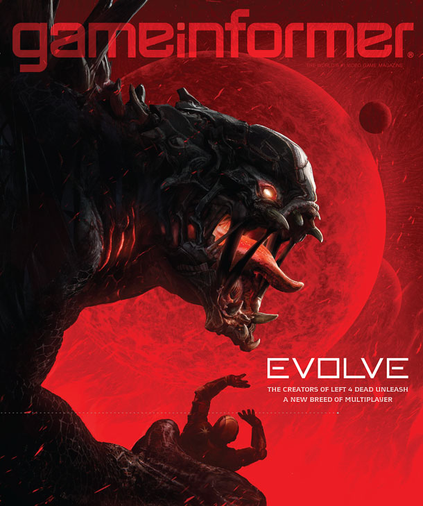 game informer evolve cover 0701