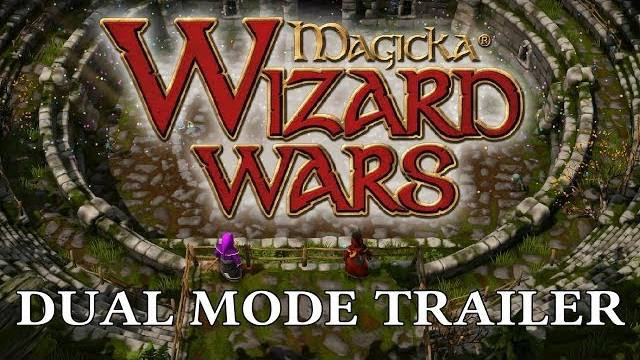 magicka wizard wars - dual mode trailer