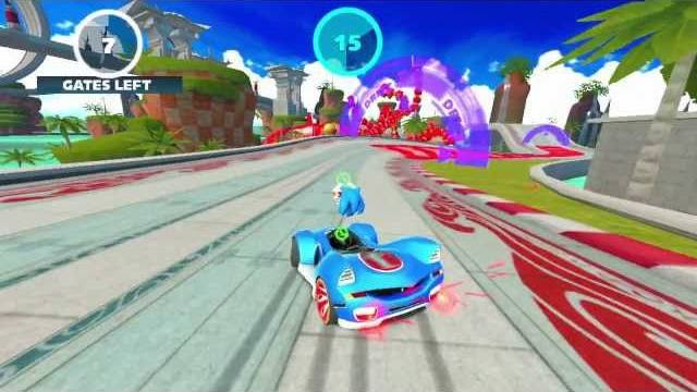sonic e all stars racing trasformed