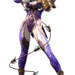 soul calibur lost swords Ivy a