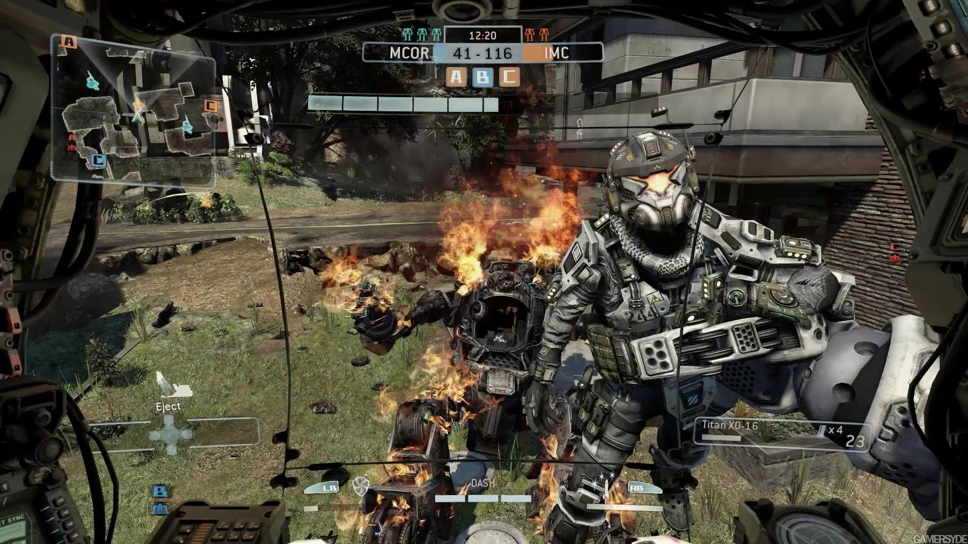 titanfall in game
