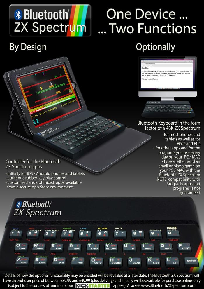 zx spectrum kickstarter