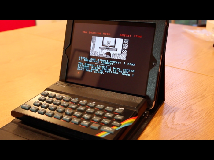 zx spectrum tablet