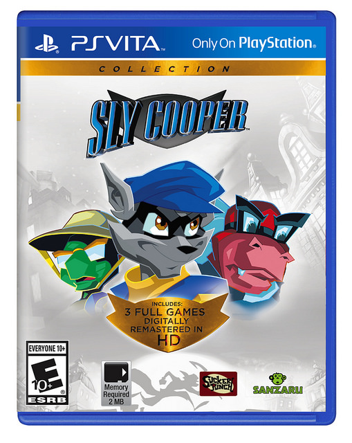 Sly cooper collection copertina