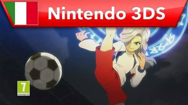 inazuma eleven 3 ogre all'attacco trailer nintendo 3ds 1302