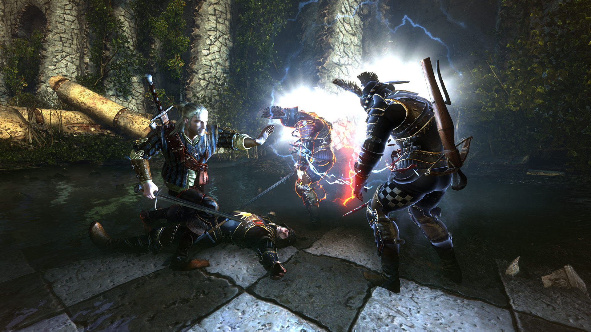 Un frammento di The Witcher 2 Enhanced Edition