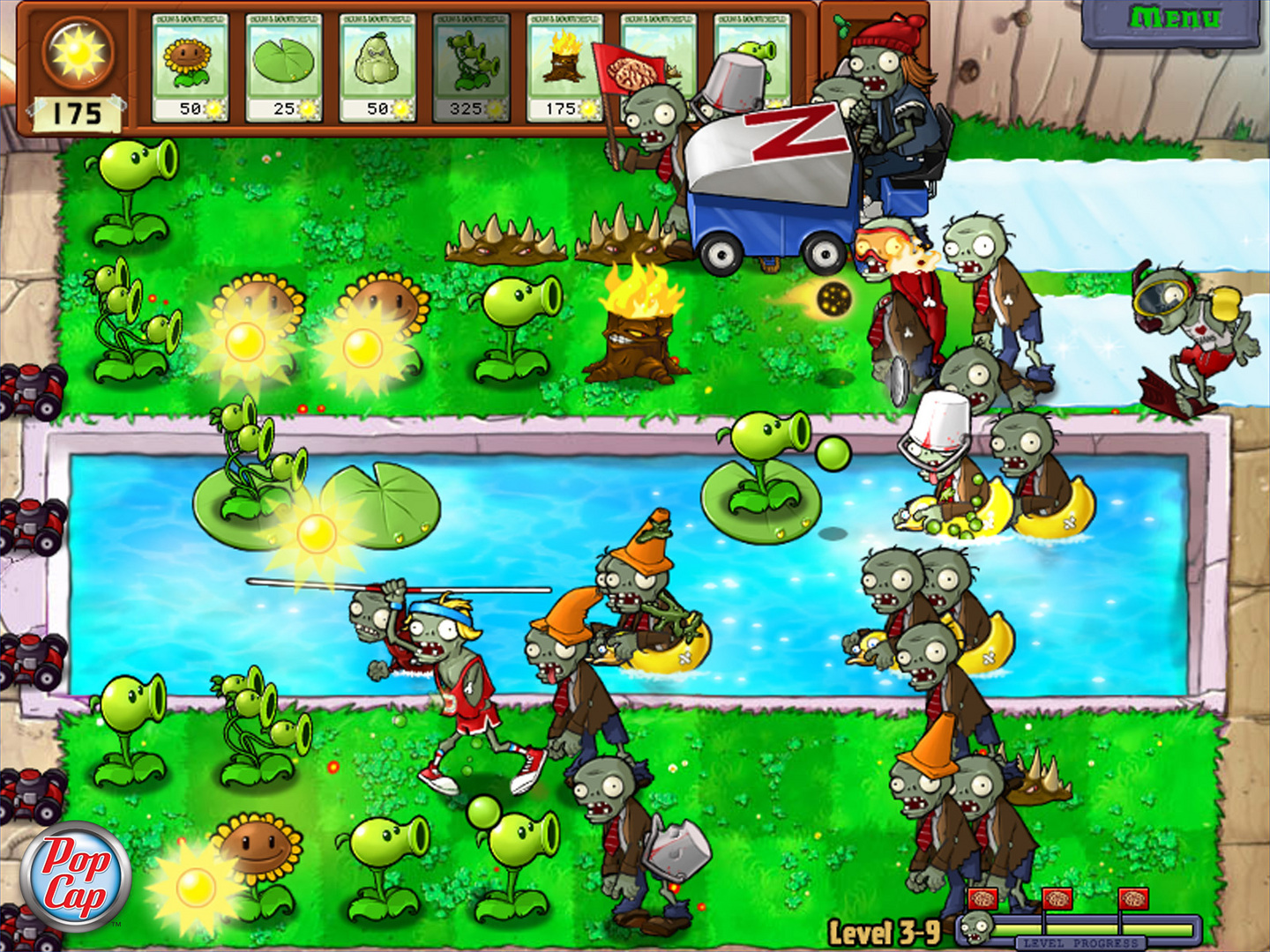 Plants vs Zombies: Game of the Year Edition fa parte del lotto