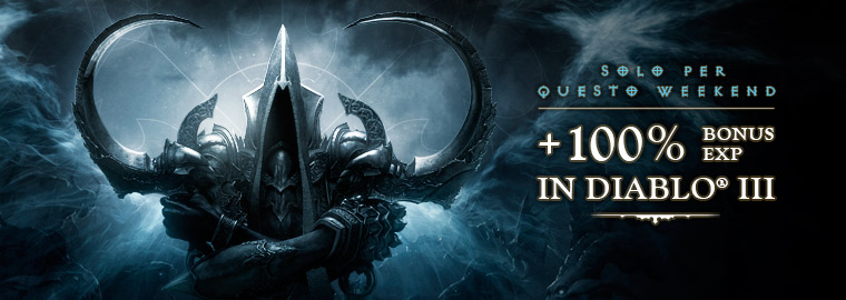diablo III xp boost