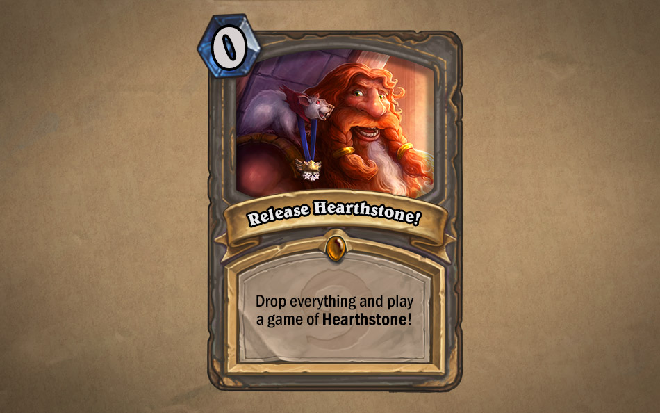 hearthstone heroes of warcraft release