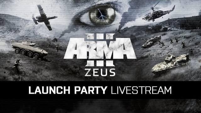 Arma 3 launchparty zeus