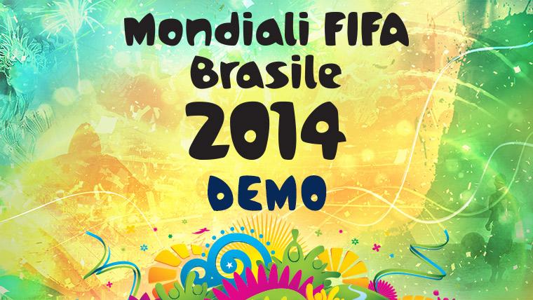 EA Sports Mondiali Fifa Brasile 2014 header demo