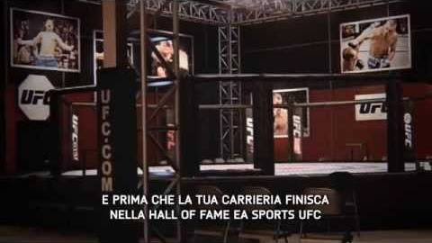 EA Sports UFC trailer modalità carriera