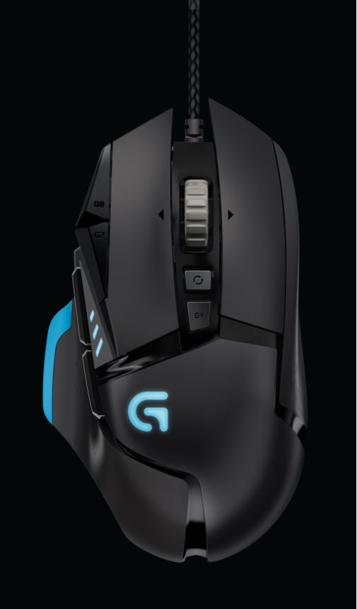 Logitech - G502 Proteus Core Tunable Gaming Mouse