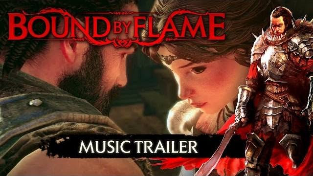 bound by flame trailer musica