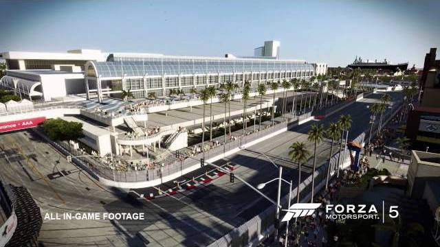 forza motorsport 5 long beach trailer