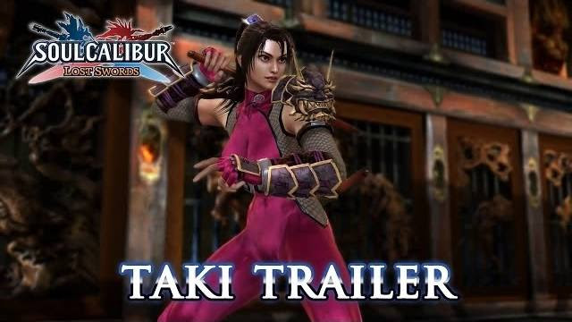 taki trailer soul calibur