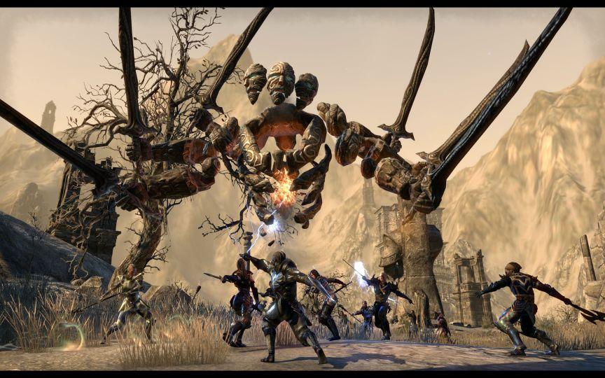 the elder scrolls online-Craglorn-10