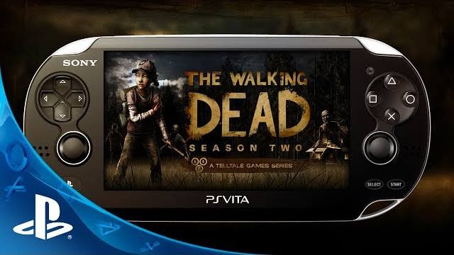 the walking dead season two ps vita