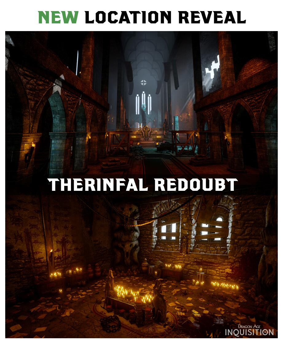 Dragon age inquisition therinfal redoubt